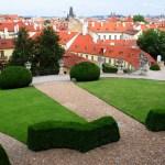 Террасы Вртбовского сада
