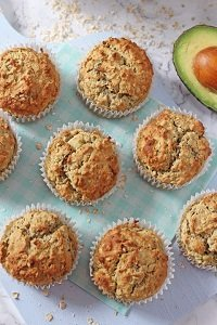 banana avocado and apple muffins baby led weaning breakfast first foods finger foods