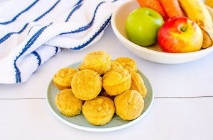 ABC muffins apple banana carrot muffins for baby led weaning first foods finger foods