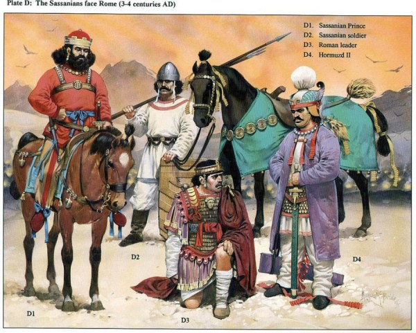 THE REIGN OF SHAPUR I (241–72) | Weapons and Warfare