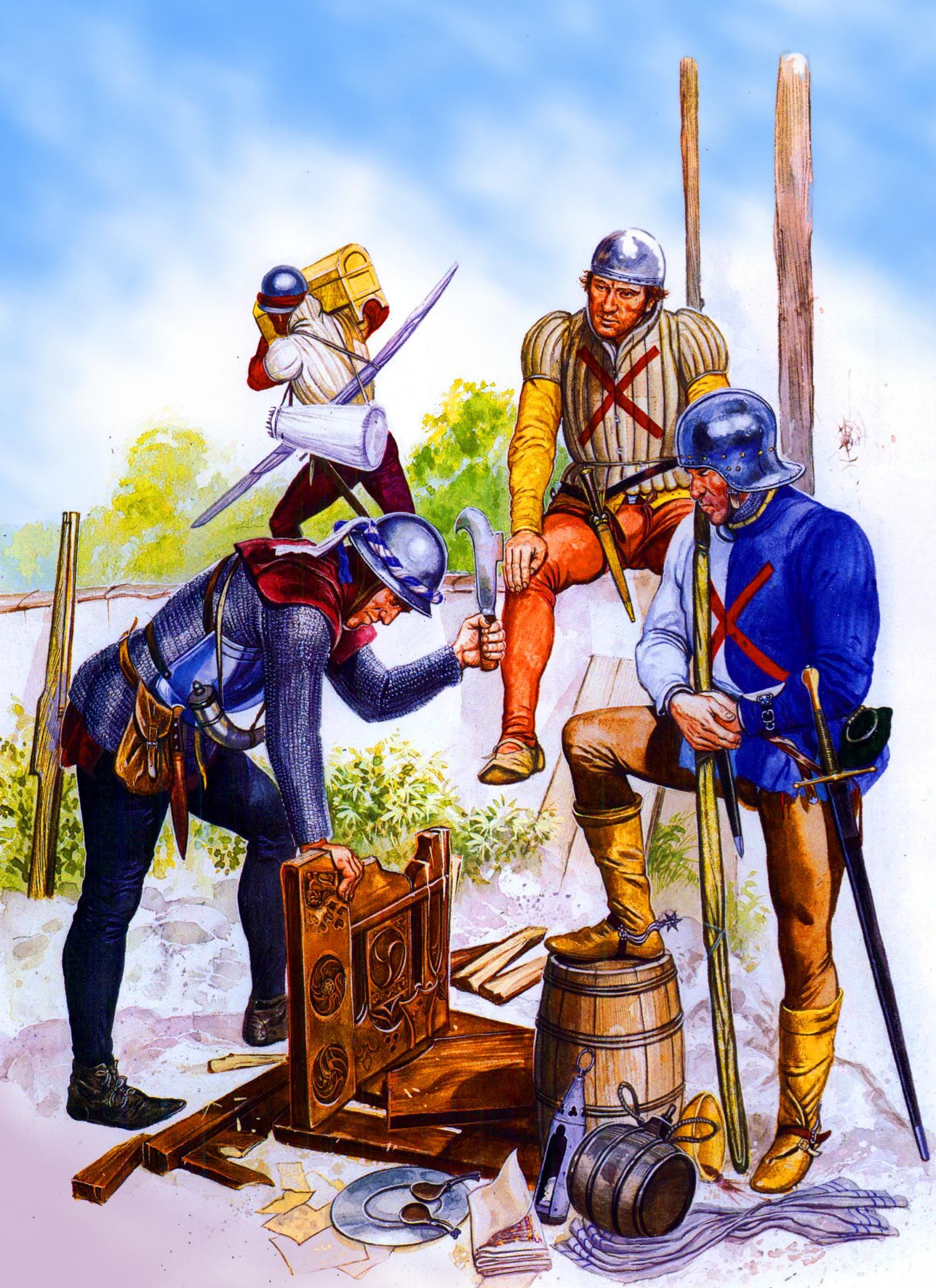 Burgundians In The 100 Years War