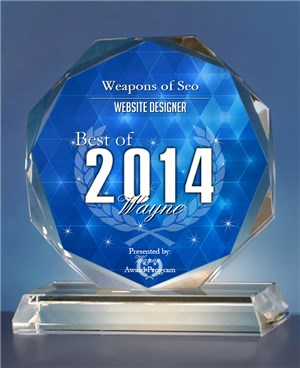 Weapons of SEO Receives 2014 Best of Wayne Award