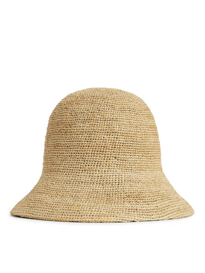 Raffia Straw Hat arket
