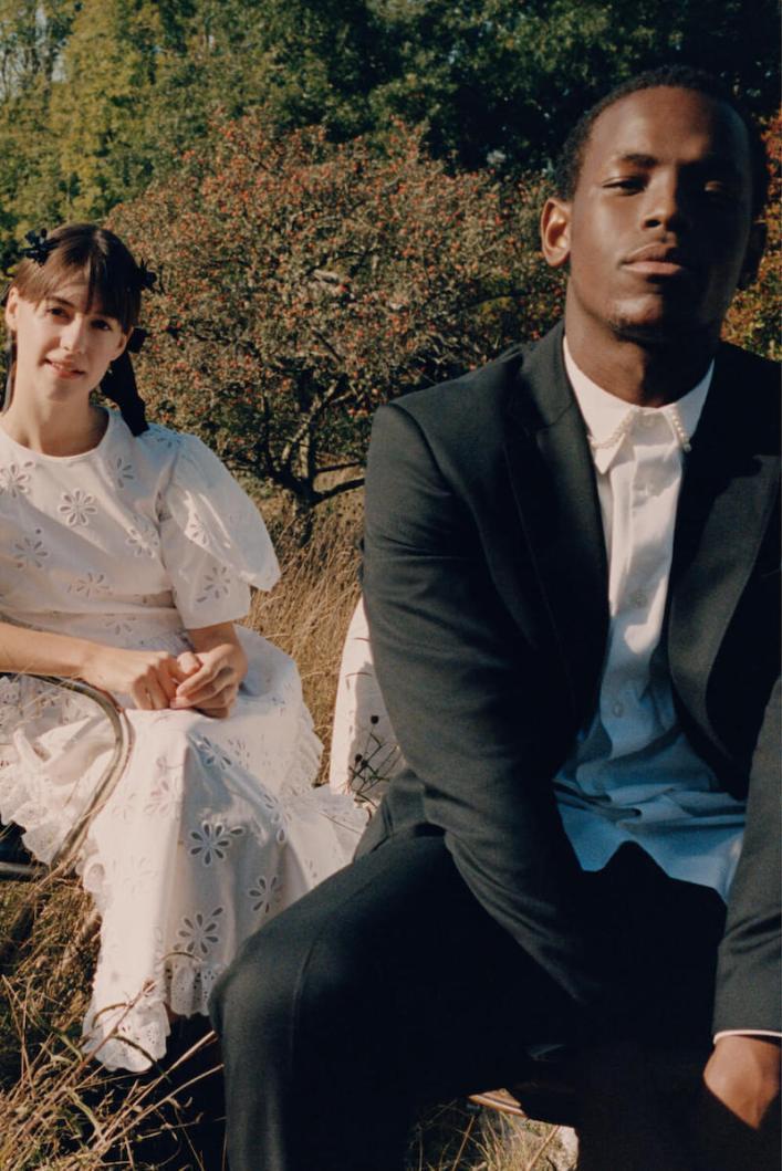 Daisy Edgar-Jones for Simone Rocha x H&M