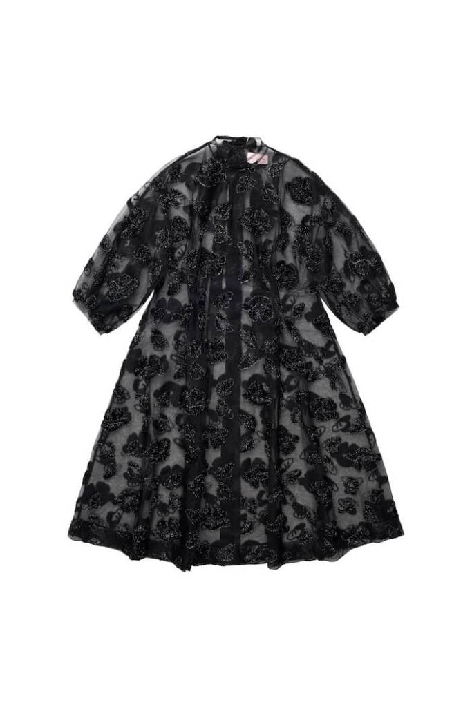 Tinsel-patterned Dress, £139.99,Simone Rocha x H&M