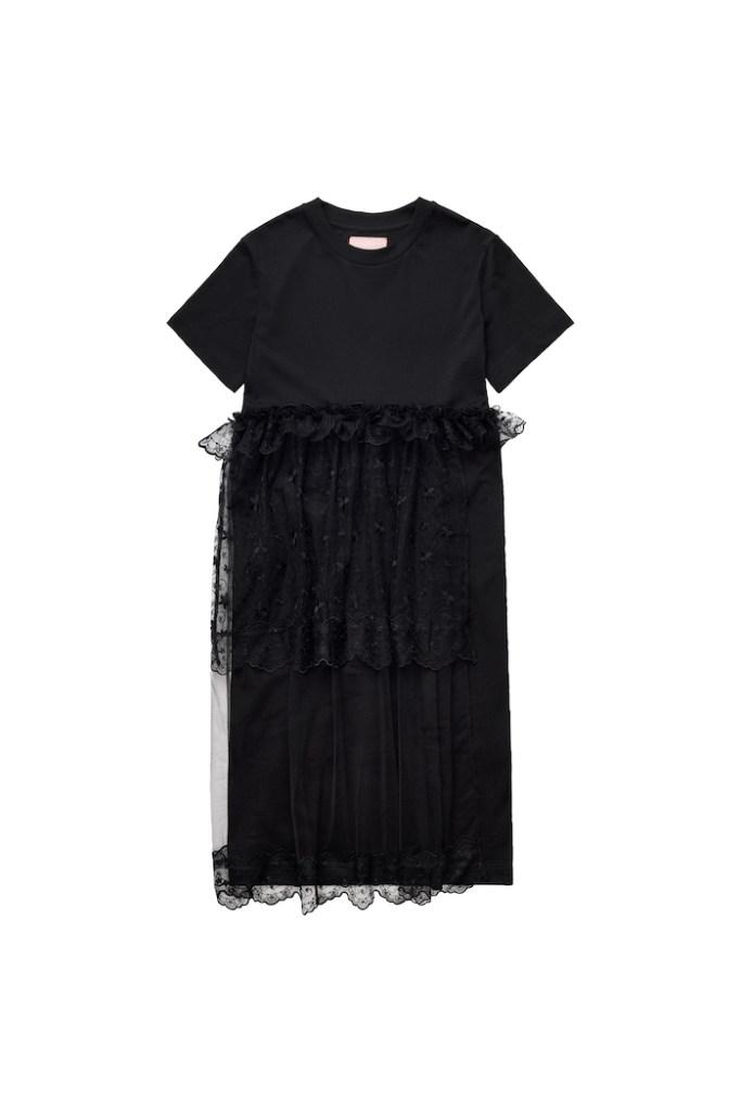 Tulle-detail T-shirt dress £69.99