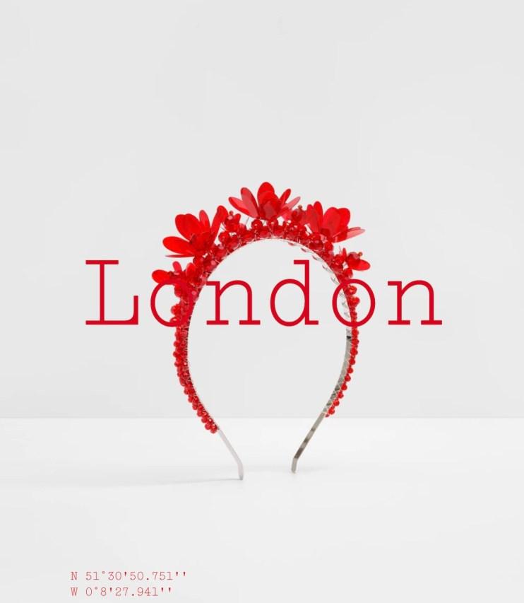 Simone Rocha x H&M  City Edition London embellished alice band
