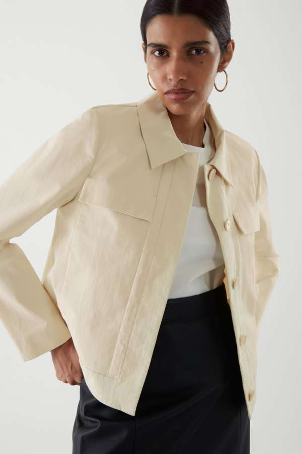 COS Patch Pocket Shirt Jacket