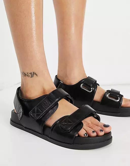 Factually Sporty Sandals asos