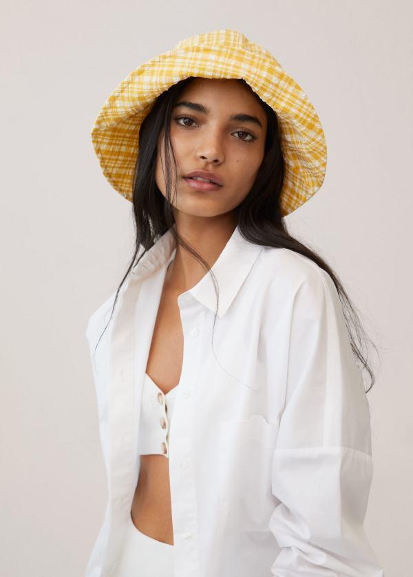 Mango Texture Bucket Hat