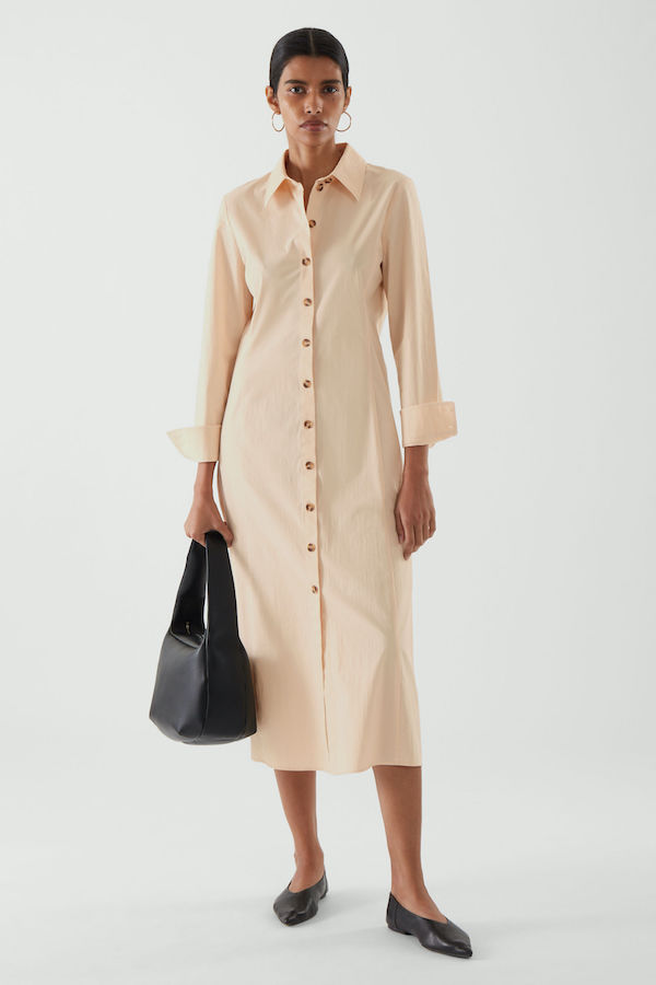 Midi Shirt Dress COS