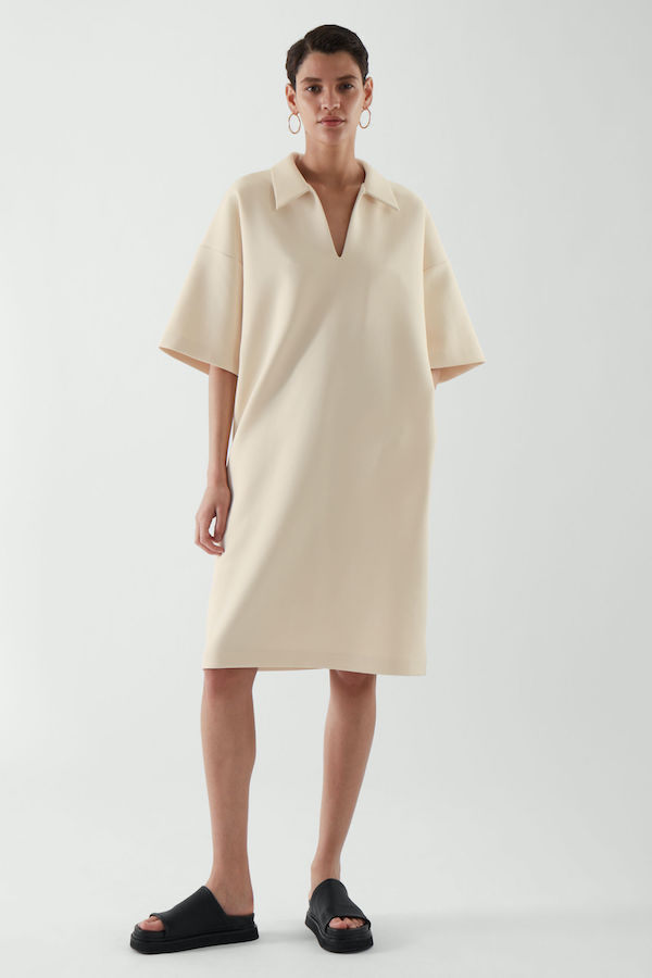 Scuba Polo Dress COS