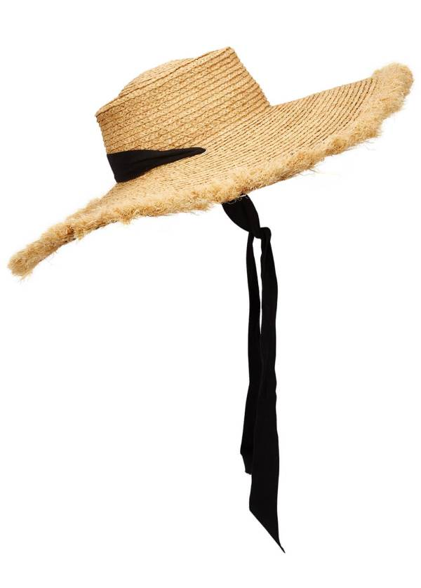 Lack of Color at Harvey Nichols Ultra Wide Ventura Straw Wide-Brim Hat