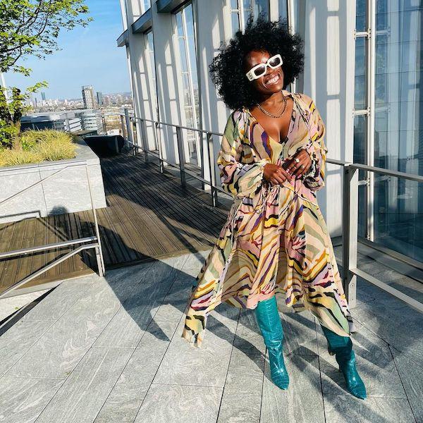 Nana acheampong wearing statement boots