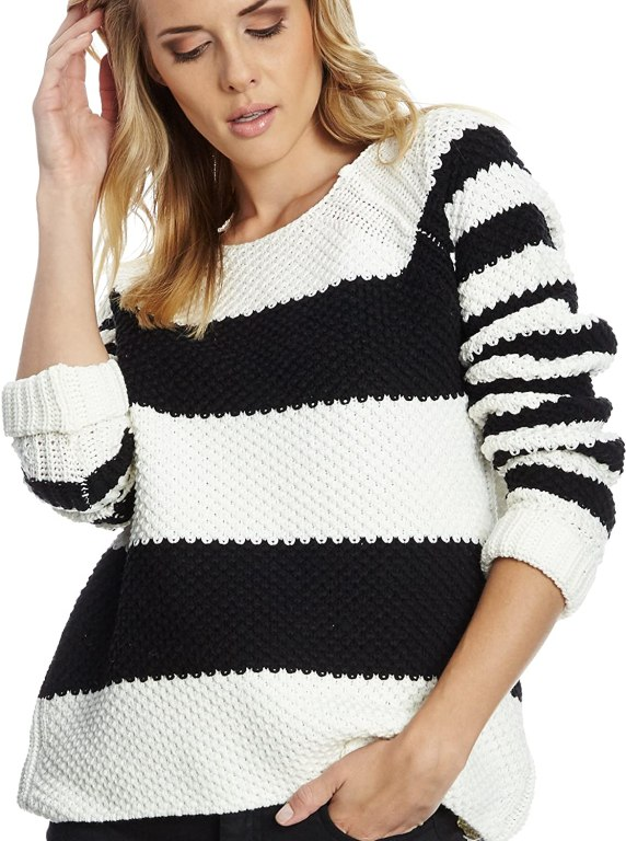 Gestuz Women's Stripe Pullover Jumper amazon