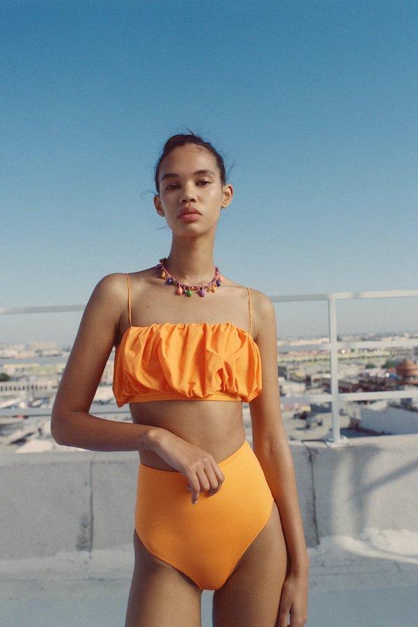 Zara Bandeau Bikini Top