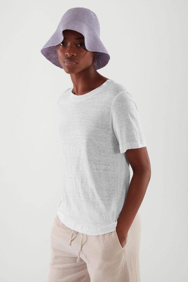 COS Crochet Paper Hat