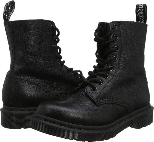 Dr. Martens Women's 1460 Pascal Mono Ankle Boots amazon