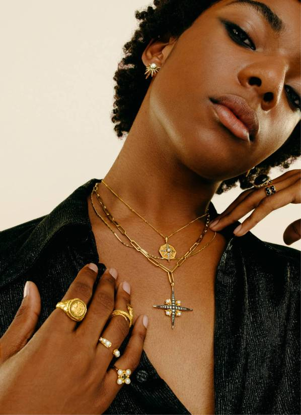 Missoma x Harris Reed campaign image