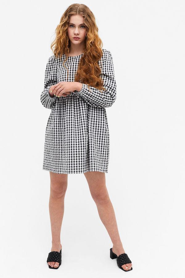 Monki Mini Smock Dress