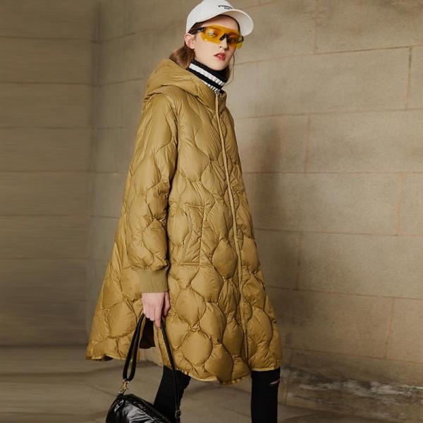 Knee length coat with hood, £109.99, Ultamodan