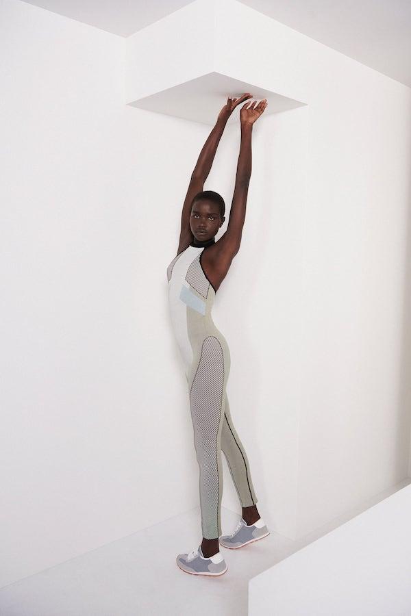 Block Colour Seamless Jumpsuit, £25.99, Zara