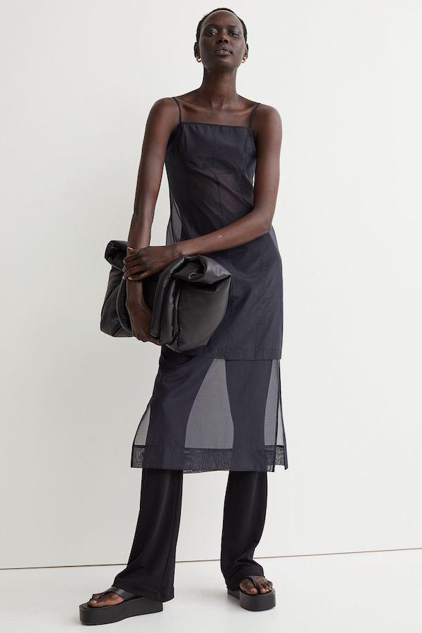 Chiffon Dress H&M