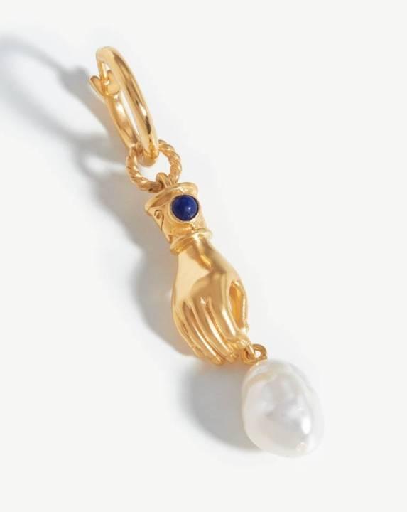Harris Reed Handpicked Pearl Single Earring