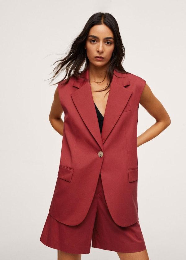 Cotton Suit Waistcoat