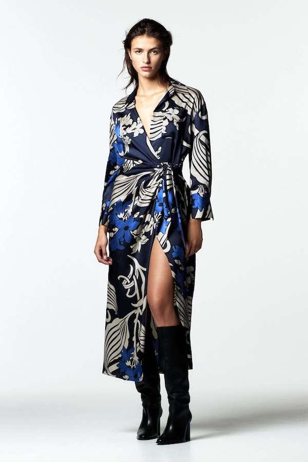 Zara Printed Shirt Dress