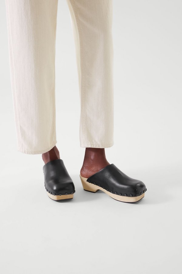 Leather Clogs COS