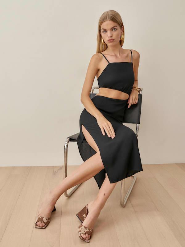 Black Kiwi Dress Reformation