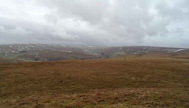Stanhopeburn valley from the sheepfold