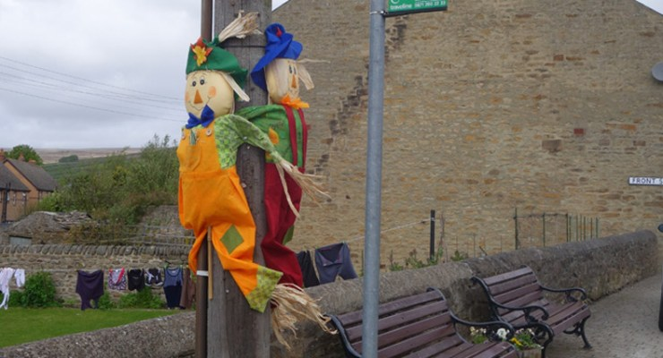 Scarecrows in Rookhope