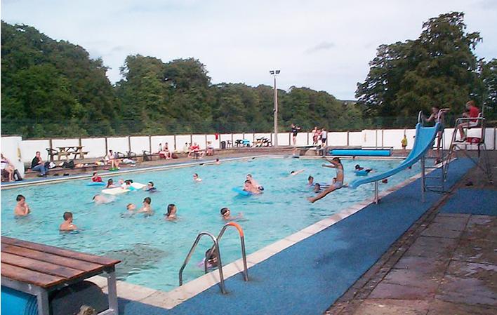 Stanhope Open Air Pool Weardale Uk
