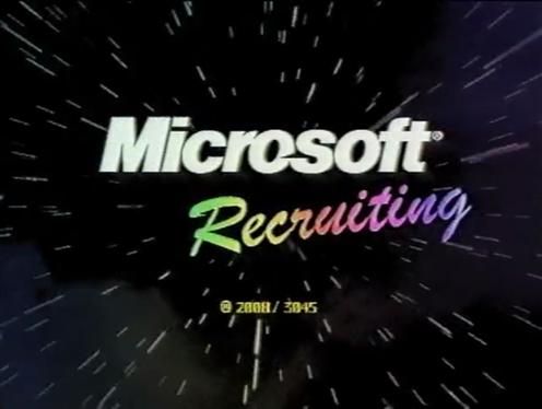 Microsoft Recruitment