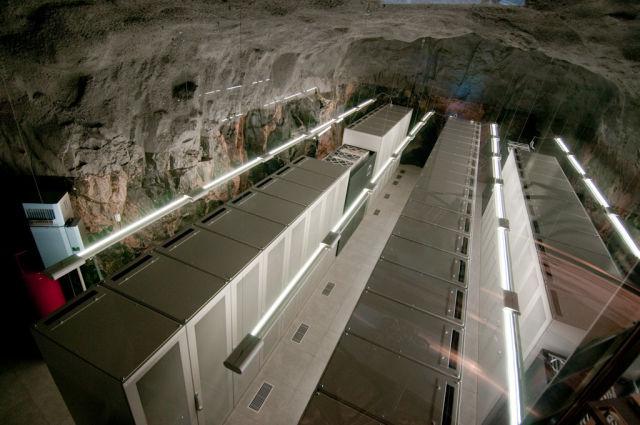 Pionen Nuclear Bunker Data Centre - Servers