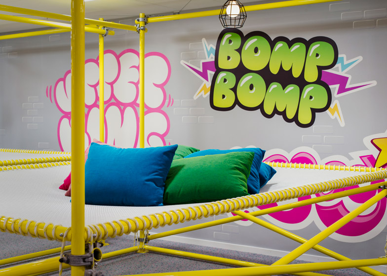 Candy Crush Offices - Jungle Gym