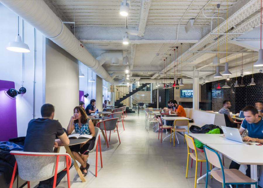 Google Co-Working Factory