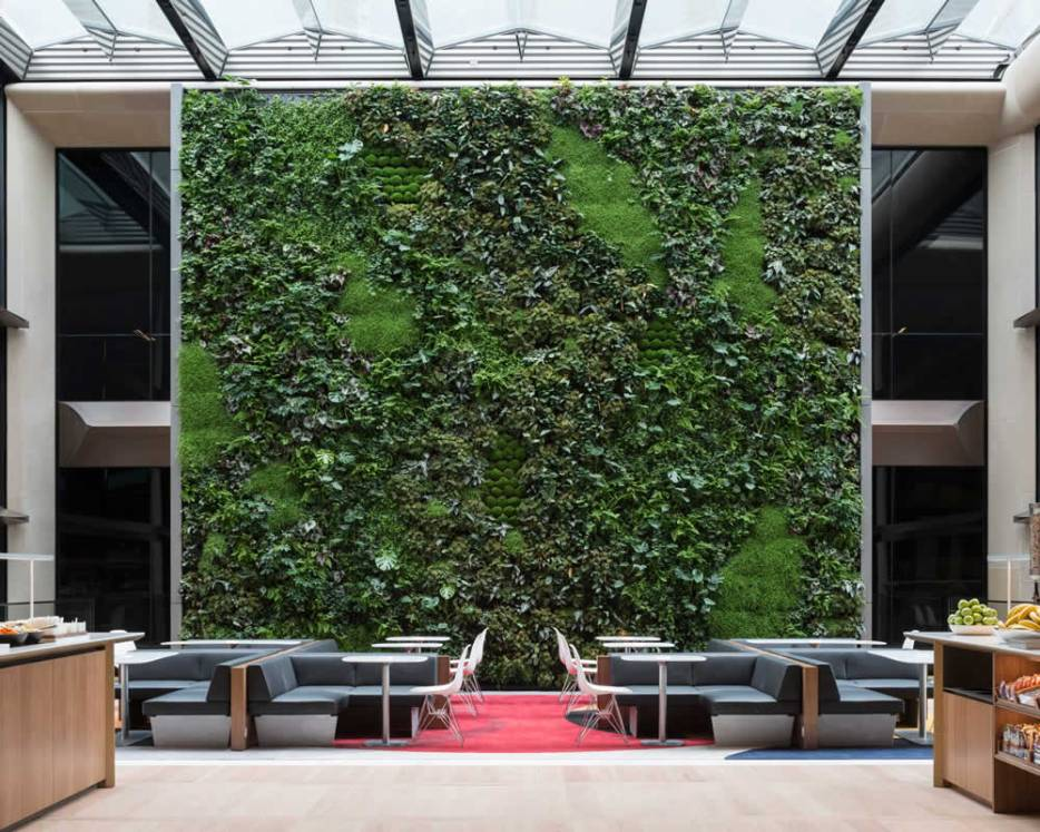 Bloomberg's Living Wall