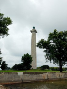 Perry's Monument was built to honor those who fought in the Battle of Lake Erie in the War of 1812.