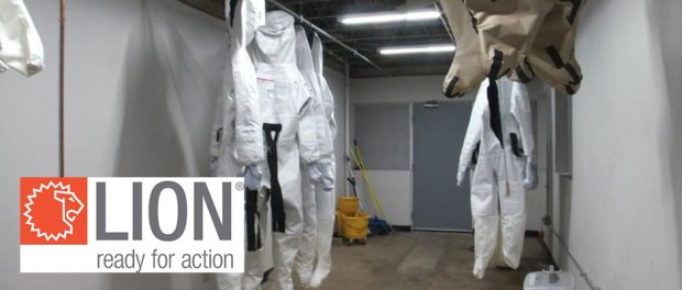 Local company Lion making PPE for essential workers