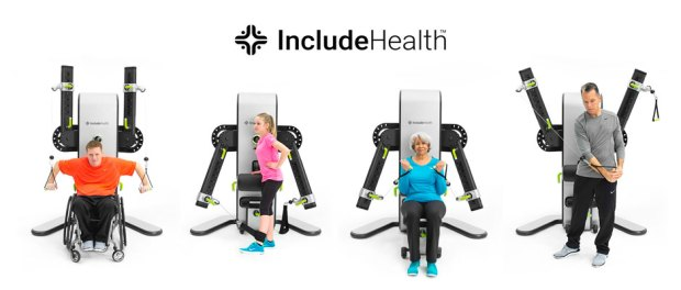 Include-Health - workout machine for amputees, disabled persons