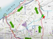 Biking a 23-mile loop from Lake Erie to Shaker Lakes