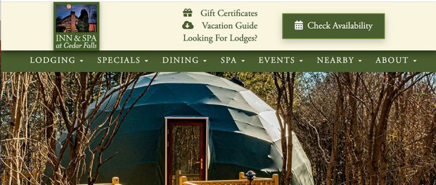 Hocking Hills Geodomes - a place to stay