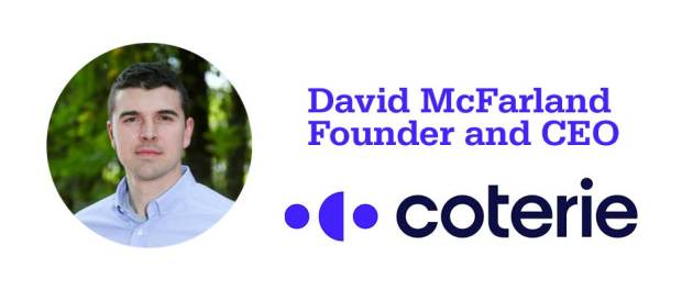 David McFarland is founder and CEO of Montgomery-based Coterie Insurance.