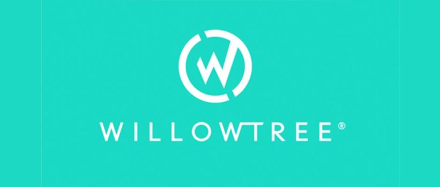 WillowTree-logo-white-on-bright-mint-green-background-color