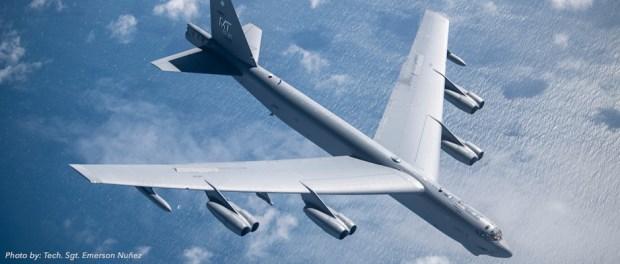 100th ARW fuels B-52 off Norwegian coast
