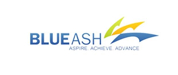 Blue Ash tech firm logo