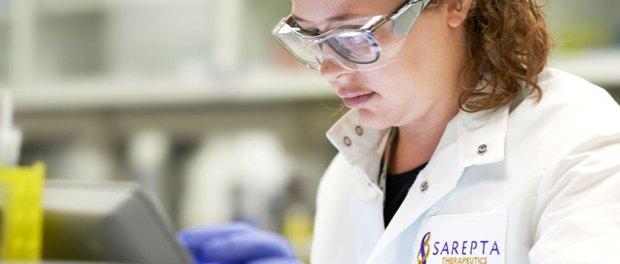 Sarepta_Columbus_researcher-in-lab